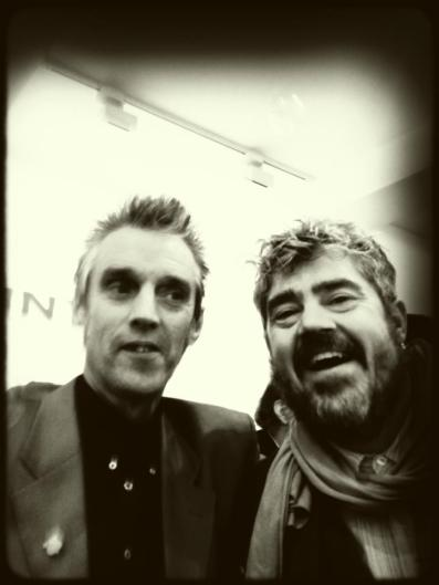 Kosmo Vinyl with Phil Jupitus (Hoxton 2013) - © Julian Balme