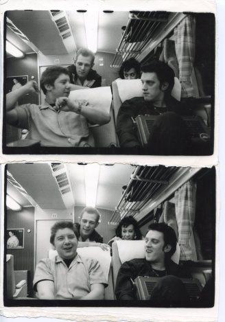 Paul Simonon, Pearl Harbour, The Baker, and Kosmo Vinyl (Bullet Train, Japan) - © Pennie Smith