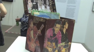 Video of Exhibition featuring Kosmo Vinyl's Record Box Piece