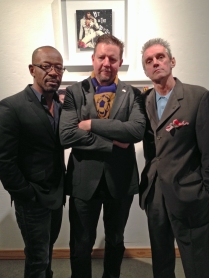 Lenny James, Shawn Vinson, and Kosmo Vinyl
